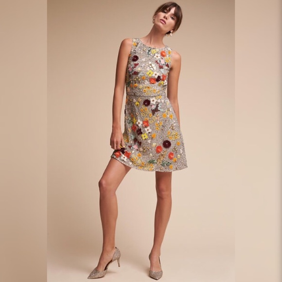 9215cf925882 BHLDN Dresses   Skirts - BHLDN Roxy sparrow Mini Dress